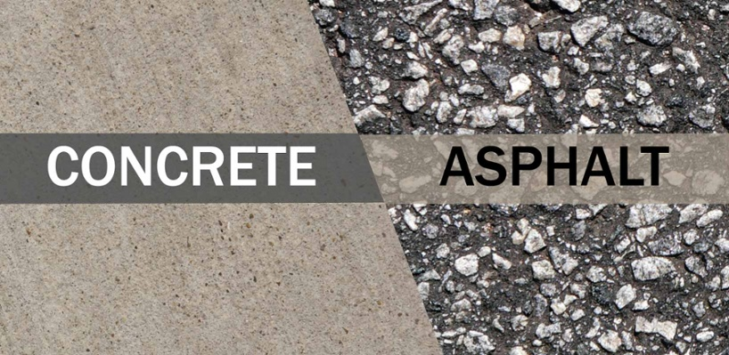 Concrete and Asphalt